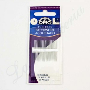Quilting needles - No. 8 (20 unitss)