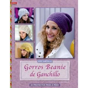 Serie Ganchillo - Gorros Beaníe de Ganchillo