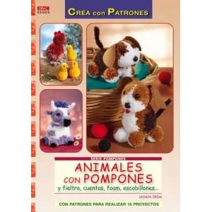 Serie Pompones - Animales con pompones
