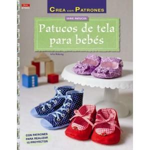 Serie Patucos - Patucos de tela para bebés