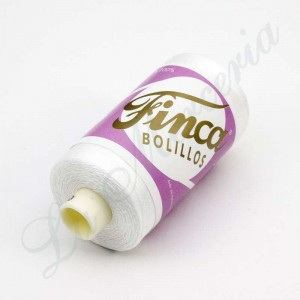 "Thread 100% Cotton - Mercerised - ""Finca"" - White"