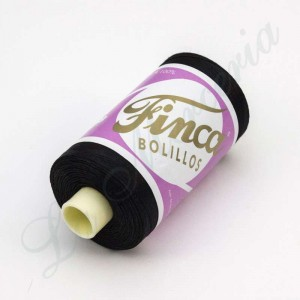 "Thread 100% Cotton - Mercerised - ""Finca"" - Black"