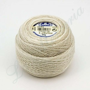 "Ball 100% Cotton - ""Cebelia"" - ""DMC"" - Crudo"