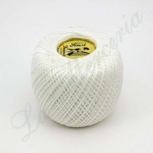 """Perlé 100% Cotton - """"Finca"""" - Linen white"""