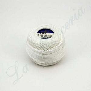 "Ball 100% Cotton - ""Cordonnet Spécial"" - ""DMC"" - White"