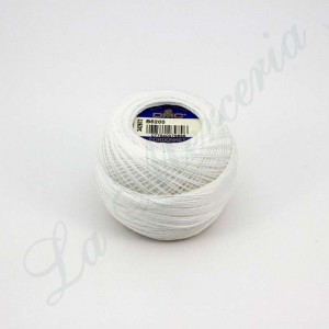 "Ball 100% Cotton - ""Cordonnet Spécial"" - ""DMC"" - White"