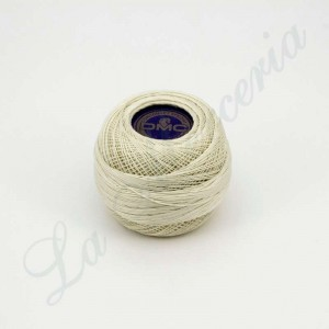 "Ball 100% Cotton - ""Cordonnet Spécial"" - ""DMC"" - Ecru No. 50"