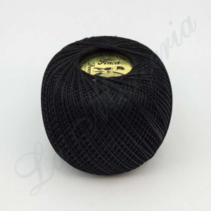 "Perlé 100% Cotton - ""Finca"" - Black"