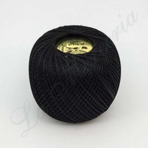 "Perlé 100% Cotton - ""Finca"" - Black"