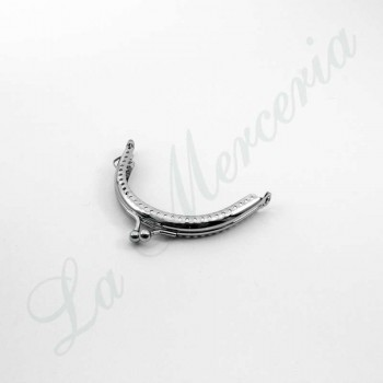 Stainless Clasp for Bag - Nickel