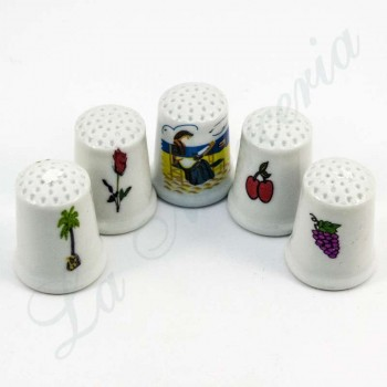 Thimbles of Ceramic