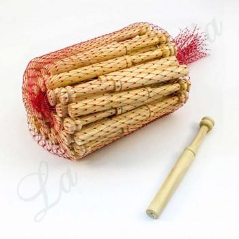 Bolillos Rectos - Madera de Boj - 12 cm. (Paquete 50 u.)