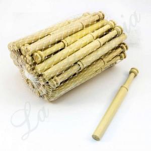 Straight bobbins in boxwood - 14 cm. - 50 units