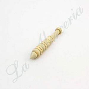 """Bolillo de madera de Boj - """"Almagro"""" - 6,5 cm."""