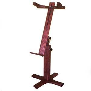 Soporte de madera para mundillo - Extensible - Largo