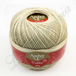 Ovillo 100% algodón - Tridalia - 200 gr. - Crudo