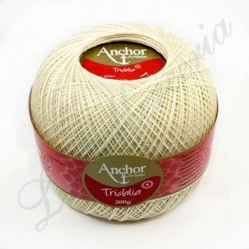 "Ball 100% Cotton - ""Tridalia"" - 200 gr. - Clear Ecru (926 color)"