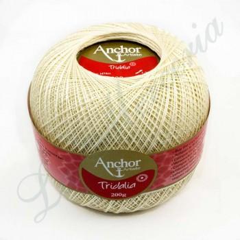 "Ovillo 100% Algodón - ""Tridalia"" - 200 gr. - Crudo claro (color 926)"