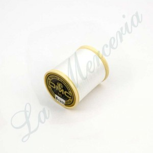 "Bobbin 100% Cotton - ""Alsacia"" - ""DMC"" - White No. 50"