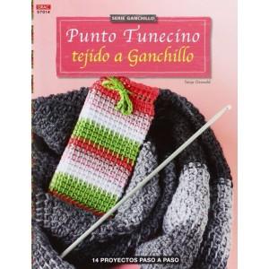 Serie Ganchillo - Punto Tunecino tejido a Ganchillo