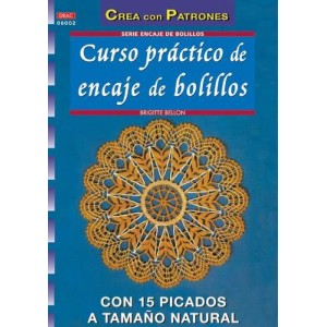 Crea con Patrones - Curso práctico de encaje de bolillos