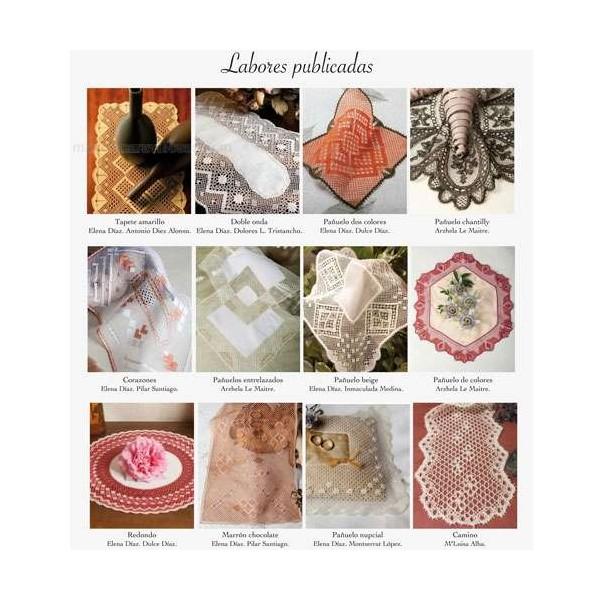 Labores de Bolillos - Nº 46 - Especial tapetes y pañuelos - La Merceria