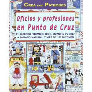 Oficios y Profesiones en Punto de Cruz