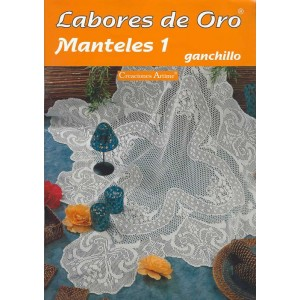 Creaciones Artime - Labores de Oro - Manteles - Nº 1