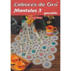 Creaciones Artime - Labores de Oro - Manteles - Nº 3