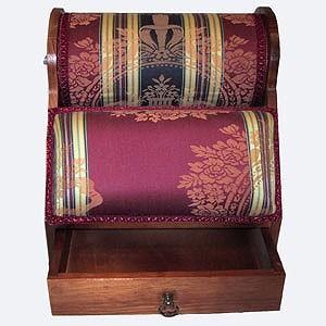 Mundillo - Mueble Francés de madera (con cajón) - Mediano