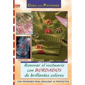 Crea con Patrones - Renovar el vestuario con Bordados de brillantes colores