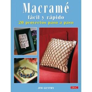 Editorial Drac - Macramé - Fácil y rápido