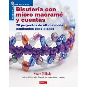 Editorial Drac - Macramé - Bisutería con micro Macramé y Cuentas
