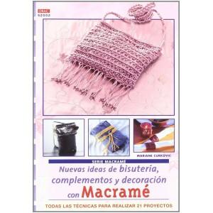 Editorial Drac - Macramé - Nuevas ideas de bisuteria, complementos y decoración