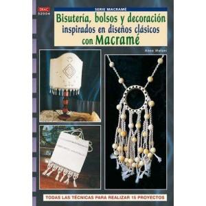 Editorial Drac - Macramé - Bisutería, bolsos y decoración inspirados en diseños clásicos