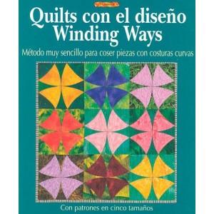 Editorial Drac - Quilts con el diseño Winding Ways