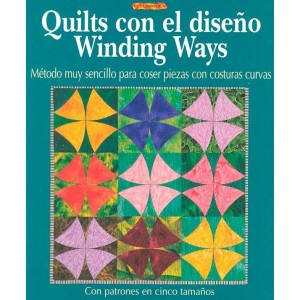 Editorial Drac - Quilts con el diseño Winding Ways
