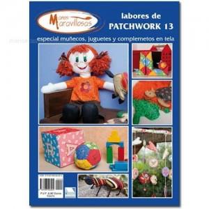 Labores de Patchwork - Nº 13 - Especial muñecos, juguetes y complementos en tela