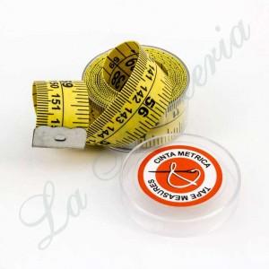 Metric tape of glass fiber - 150 cm.