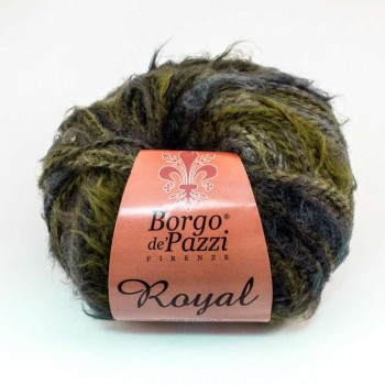 "Wool ""Royal"" -  ""Borgo de Pazzi"" - Green"
