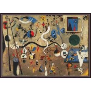 """""""Carnaval de Arlequín"""" - Joan Miró - Gráfico"""