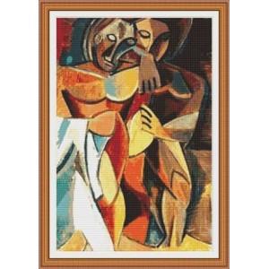 """""""La Amistad"""" - Pablo Picasso - Gráfico"""