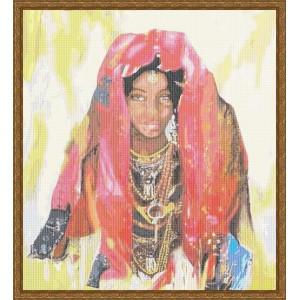 """Mujer africana"" - Gráfico"