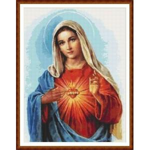 """""""Virgen María"""" - Gráfico"""