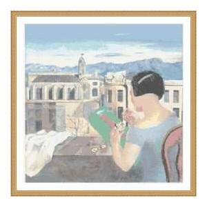 """""""Encajera de Figueres"""" - Salvador Dalí - Gráfico"""