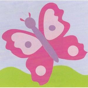 """DMC"" - ""Pink butterfly"""