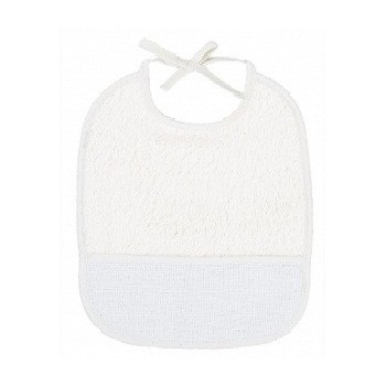 "Bib of curl - 6 Month - White - ""DMC"""