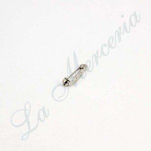 Safety pin - Color nickel - 2 cm.