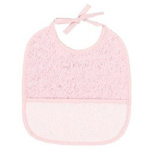 "Bib of curl - 6 Month - Pink - ""DMC"""