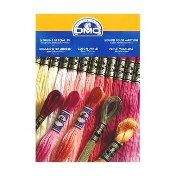 """Carta de colores hilo Mouliné - """"DMC"""""""